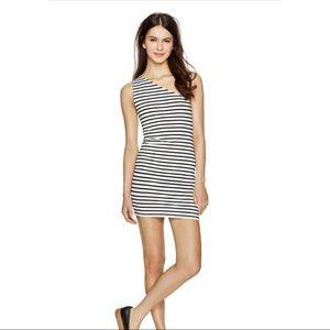 ARITZIA TALULA Nippori Dress One Shoulder Stripes